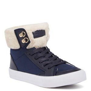 Tommy Hilfiger Tuzel Faux Fur High Top Sneaker 8